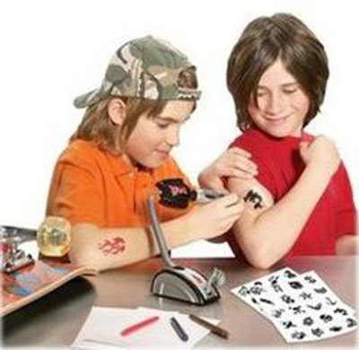 Tattoo gun for kids