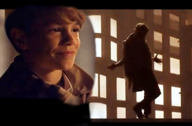 Romeo Beckham for Burberry's Christmas advert