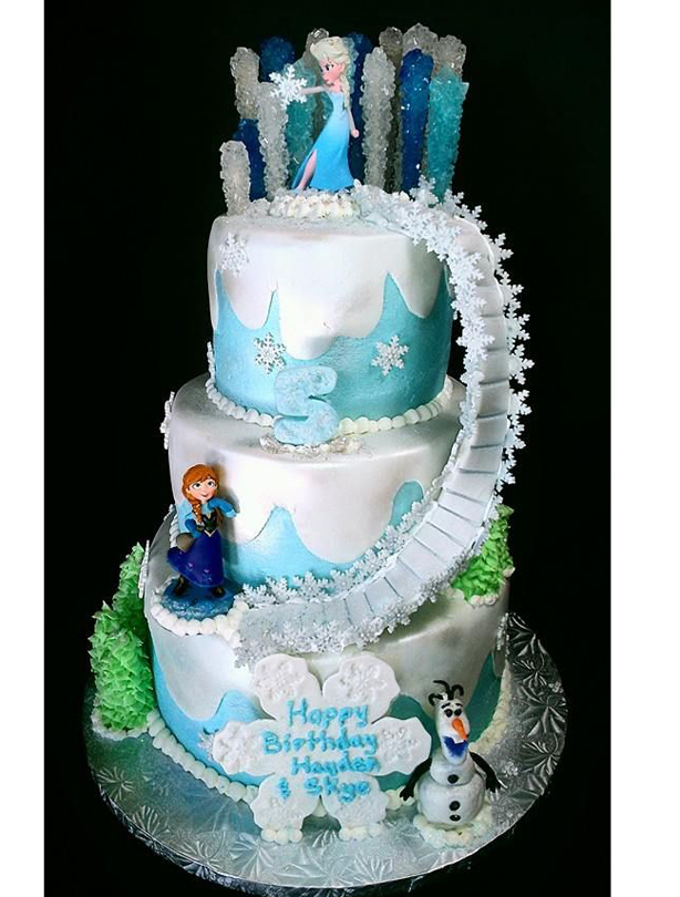 Frozen Cake Decoration Images : Frozen birthday cake ideas - goodtoknow
