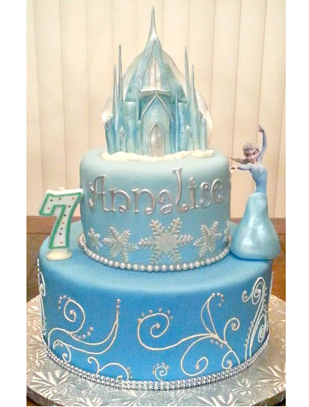 FROZEN BIRTHDAY CAKE IDEAS - Fomanda Gasa