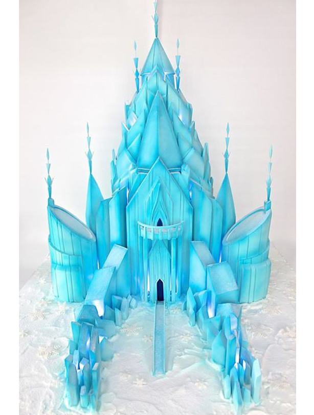 Frozen Castle Cake Pan