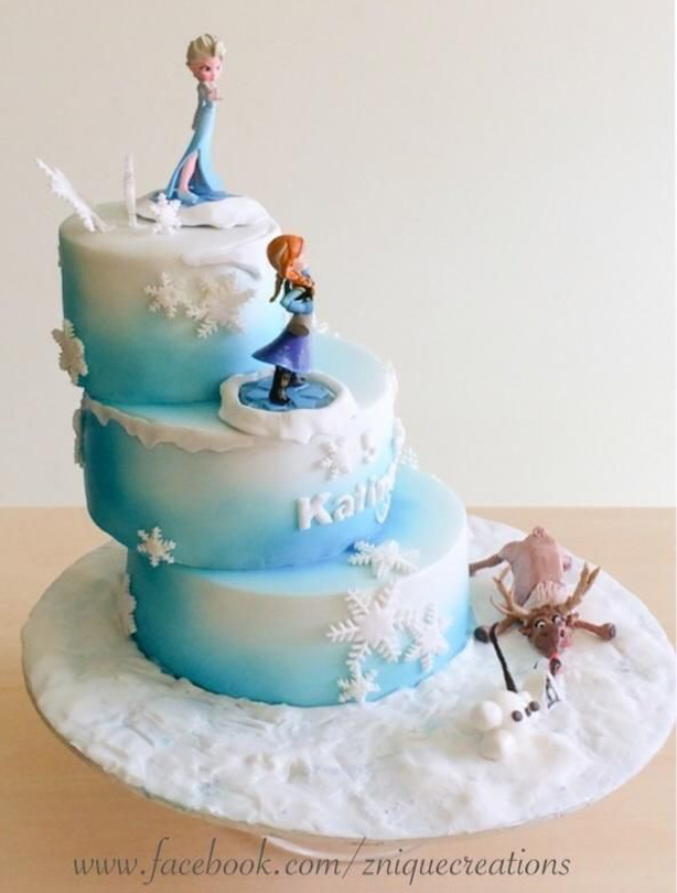 Frozen Cake Decorations Asda : Frozen birthday cake ideas - goodtoknow