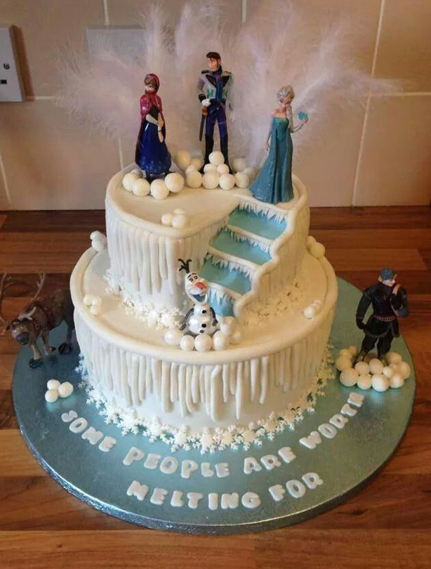 Cake Images With Frozen : Frozen birthday cake ideas - goodtoknow