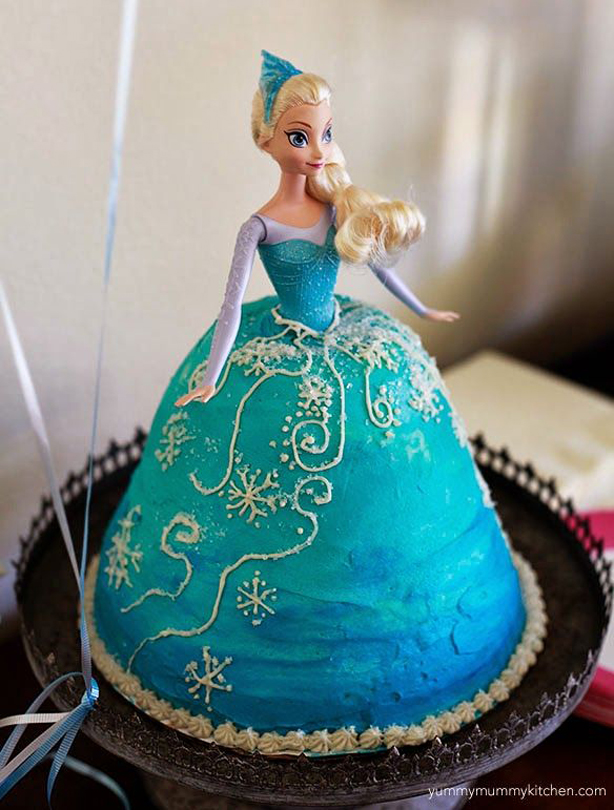 frozen birthday cake ideas goodtoknow. Black Bedroom Furniture Sets. Home Design Ideas