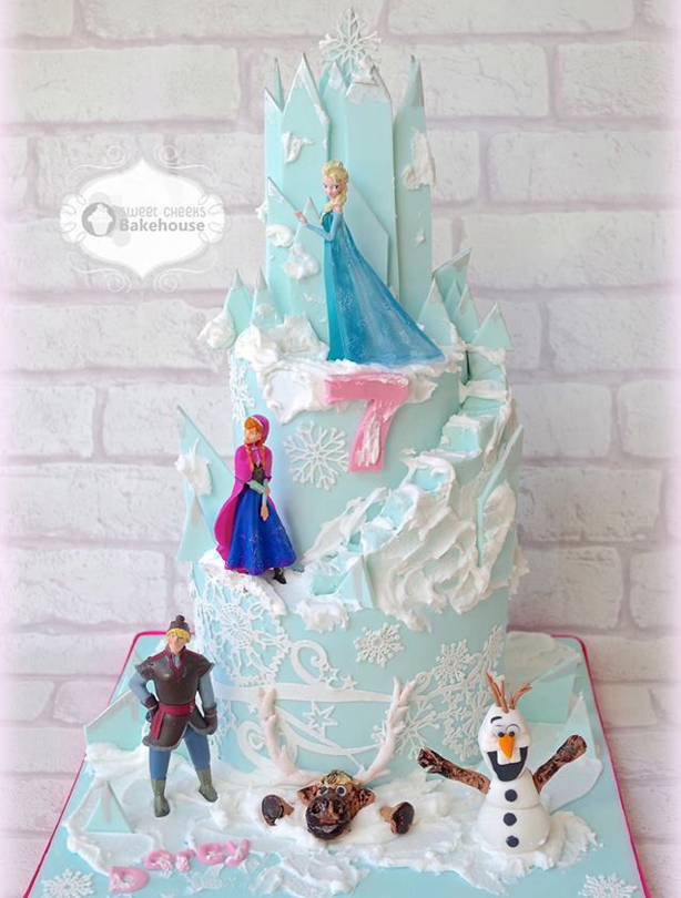 21 Frozen birthday cakes youll probably never be able to make - but ...