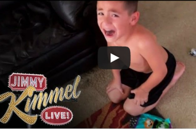 halloween candy Jimmy Kimmel 2014