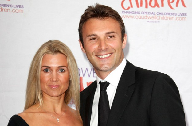 Jonathan Wilkes and his wife Nikki