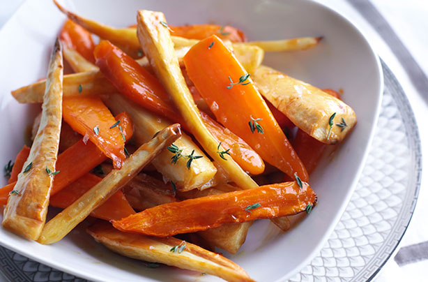 Salted caramel roasted carrots and parsnips recipe - goodtoknow