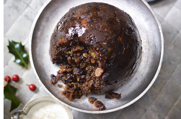 Frumenty christmas pudding picture