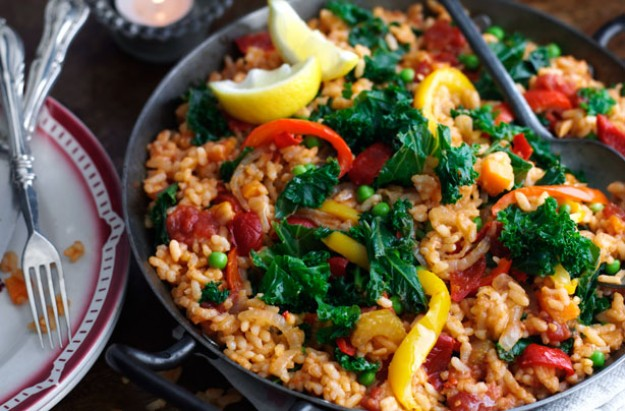Winter paella
