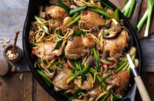 Chinese New Year chicken
