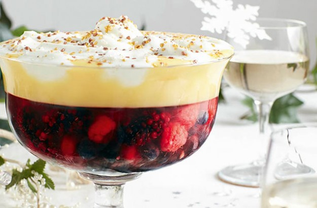 Slimming World's mulled wine trifle