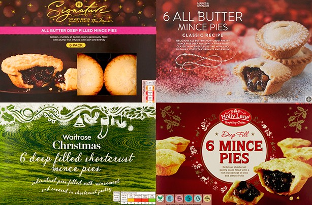 Best and worst mince pies for your diet