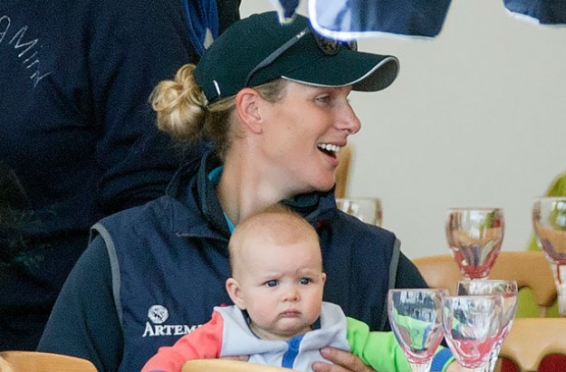 Zara Phillips and Mia