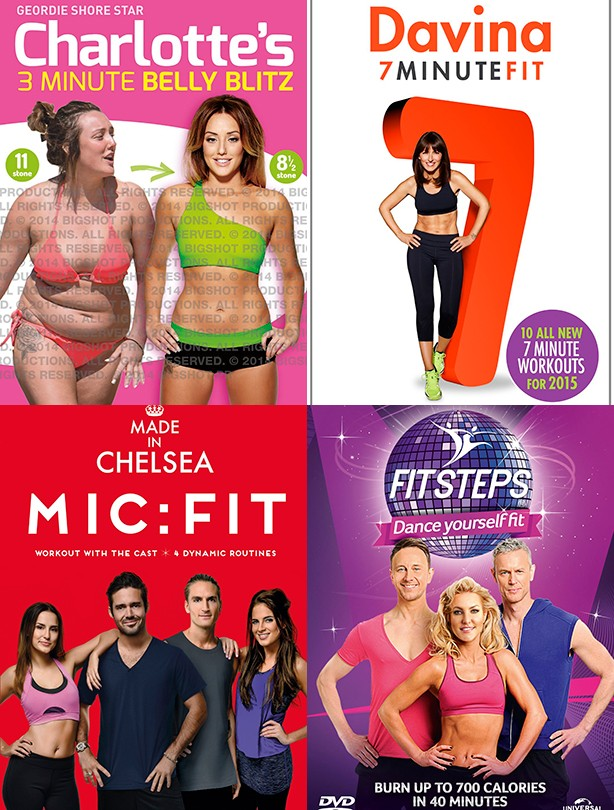 Fitness DVD Cover image
