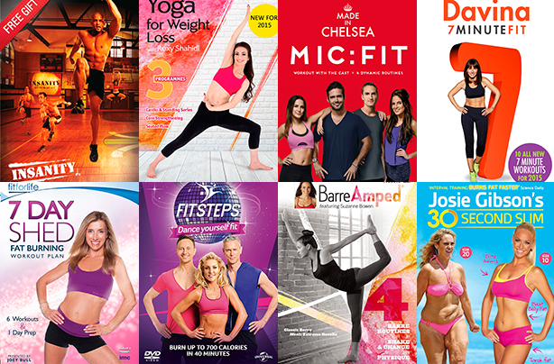 Want to get fit in 2015? Add one of these fitness DVDs to your Christmas list!