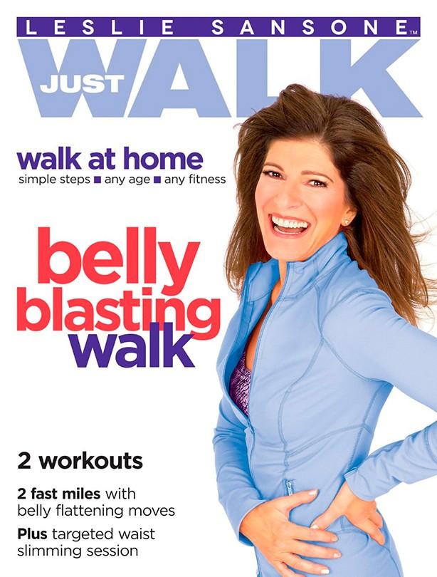 Fitness DVD Leslie Sansone Belly Blasting Walk