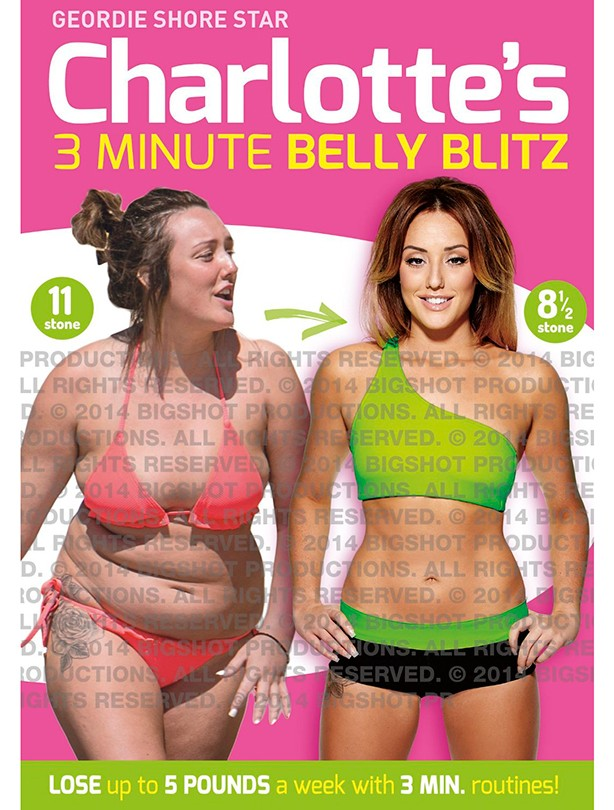 Fitness DVD Charlotte Crosby's 3 Minute Belly Blitz