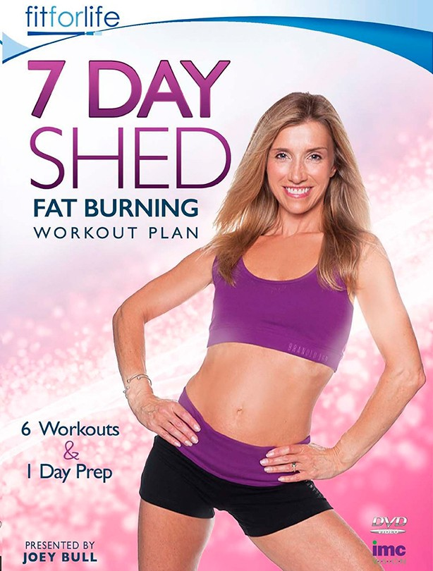 Fitness DVD 7 Day Shed Burning Workout Plan