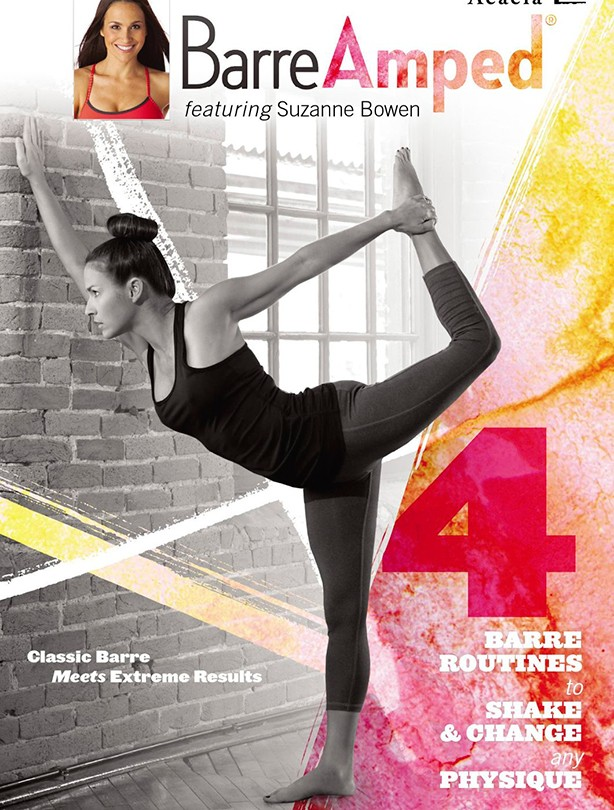 Fitness DVD Barre Amped