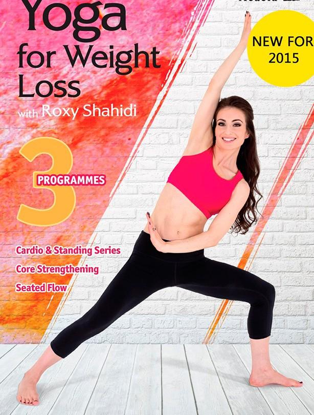 Fitness DVD Yoga Weight Loss With Shahidi