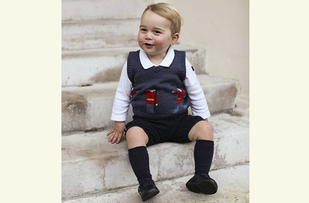 Prince George Christmas 2014
