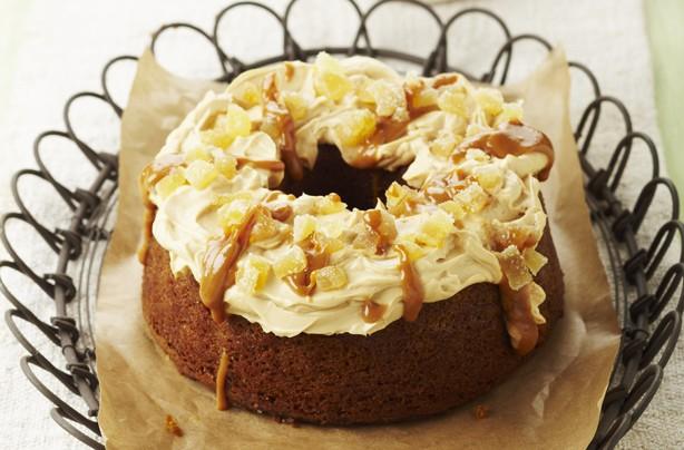 Spiced squash ring cake