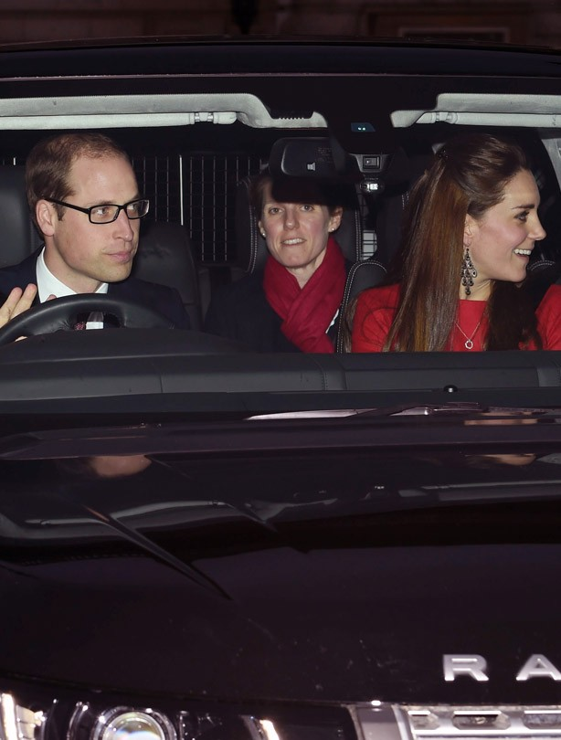 Prince William, Kate Middleton and George's nanny