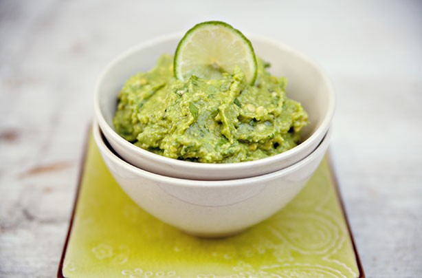 Healthy snacks: Guacamole