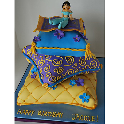 The Magic Carpet Cake