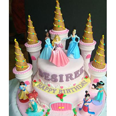 Disney Princess Cake Toppers India