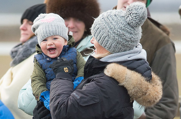 Sorry George, but we think Mia Grace might have just won cutest royal baby...