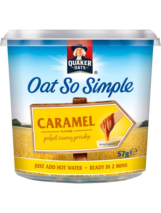 Quaker Oat So Simple Caramel