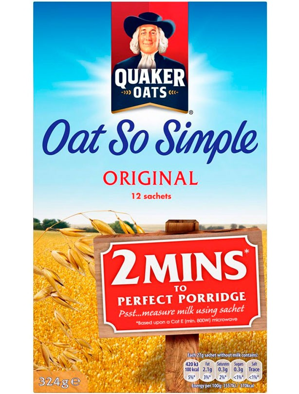 Quaker Oat So Simple Original