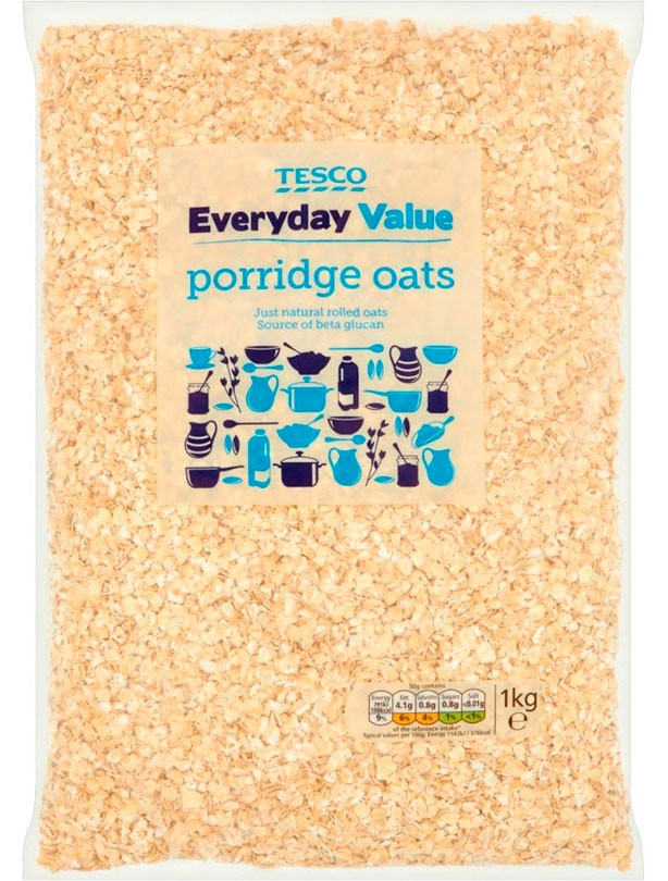 Tesco Everyday Value Porridge Oats