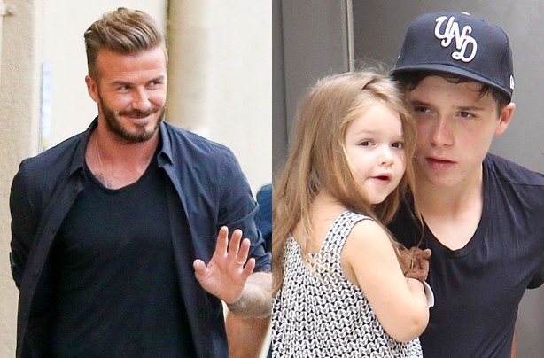 David lifts the lid on Beckham family life