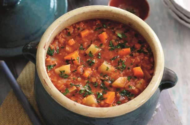 Slimming World 39 S Tomato Lentil And Vegetable Soup Recipe