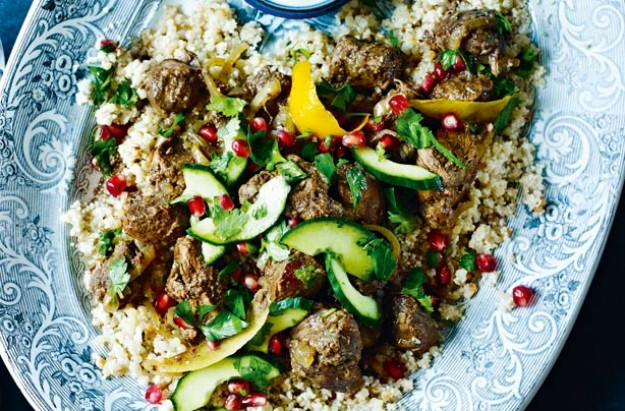 Slow-cooked Persian-style lamb stew