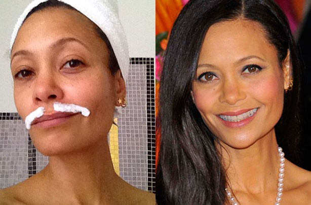 Thandie Newton, celebrities without makeup