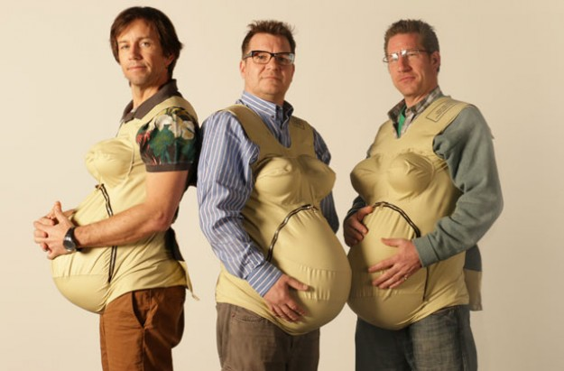 3 pregnant dads