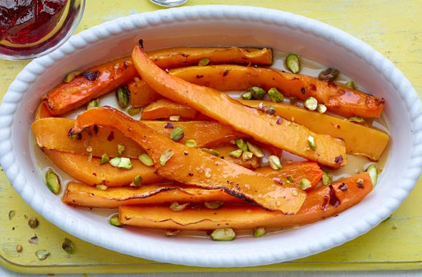 Spicy pistachio squash recipe - goodtoknow