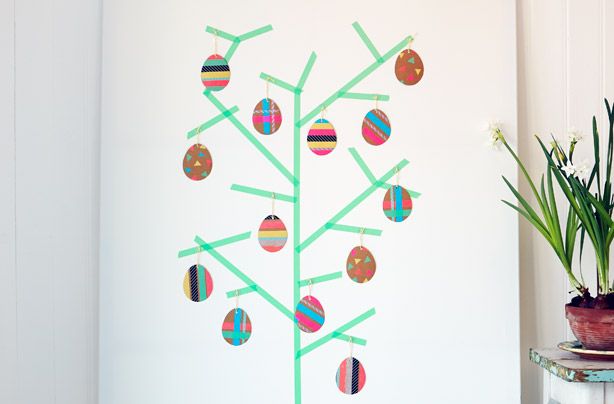 Easter egg tree craft goodtoknow How to make an easter egg tree