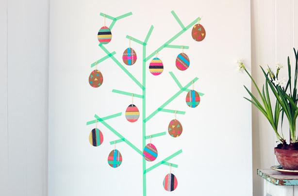 Cracking good fun! Make an Easter egg tree