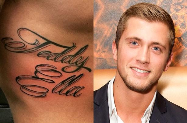Dan Osborne's tattoo