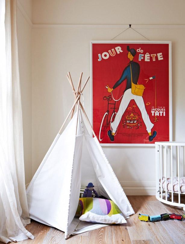 build a snug cheap kids bedroom ideas tipi tent: cheap kids bedroom ideas