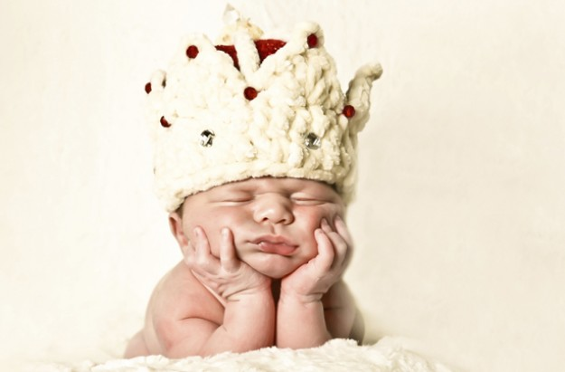 Royal baby crown
