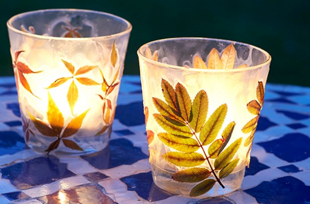 Essentials leaf lantern craft