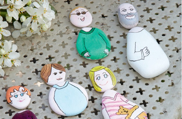 Essentials pebble people craft