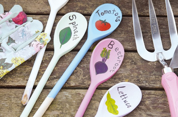 A fun wooden spoon craft for kids goodtoknow for Cheap wooden spoons for crafts