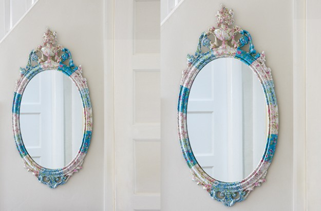 Essentials decoupage mirror craft